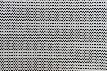 Texture of a gray shabby plastic grid