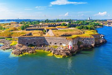 Suomenlinna (Sveaborg) Fortress in Helsinki, Finland Fototapete