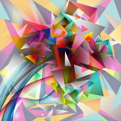 яркая абстракция