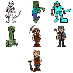Fantasy Cartoon Characters