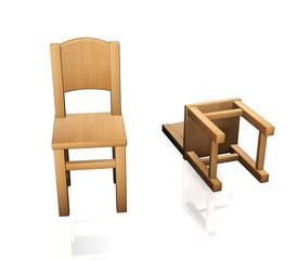 Stuhl Holz N