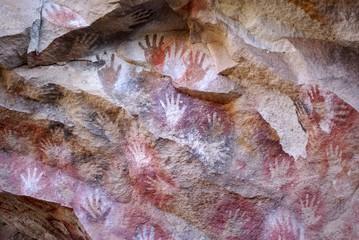 Wall Mural - Peintures rupestres, Patagonie