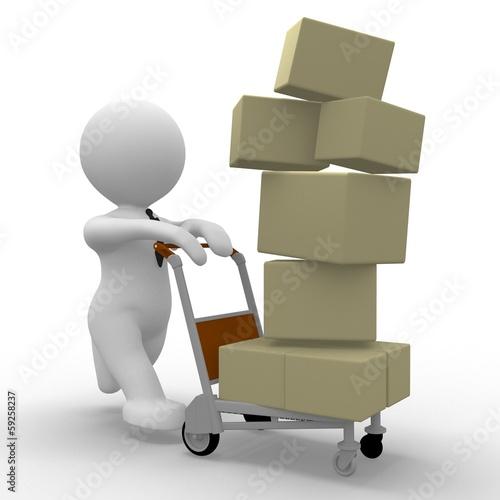 Pakete Ausliefern