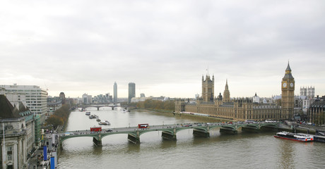 Fototapete - London skyline