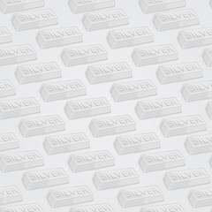 Silver Bars Seamless Pattern