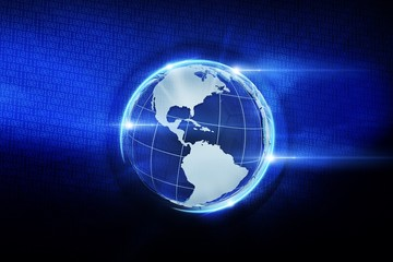 Digital Globe Illustration