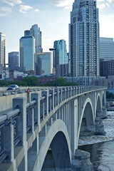 Wall Mural - Minneapolis Bridge
