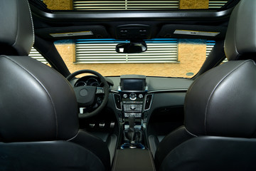 Fototapete - interna car