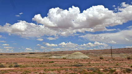 the painted desert, Arizona