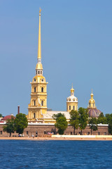 Wall Mural - Peter and Paul fortress
