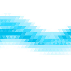 Abstract flowing triangles background