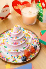 Cake for christmas celebration