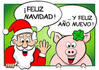 Feliz Navidad y un Feliz Año Nuevo!
