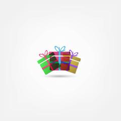 vector gift box icon
