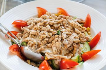 Shoarma salad