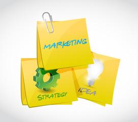 marketing, strategy, ideas post illustration
