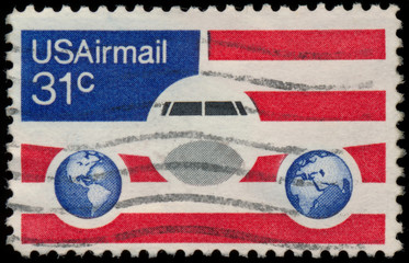 USA - CIRCA 1973: A stamp printed in the USA showing 31c, circa