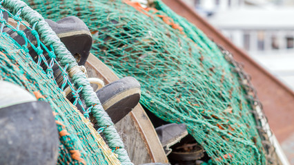 Trawler's fishing net