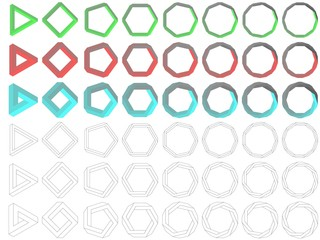 Impossible polygon collection