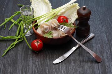 Dish With Ravioli