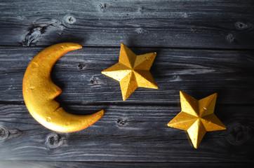 Mond Sterne Sternchen