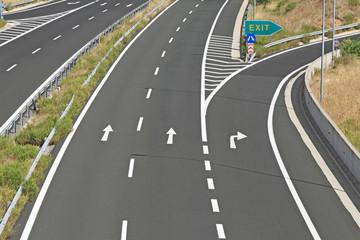 Egnatia motorway in Greece