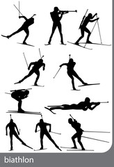 Biathlon, vector