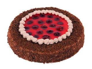 Pie strawberry creamy