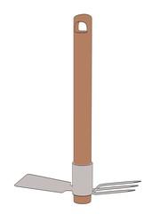 cartoon image of garden tool