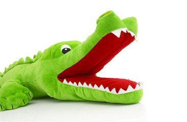 Printed roller blinds Crocodile Achtung Krokodil!