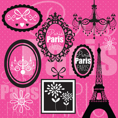 Paris design vector illustration