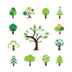 tree symbol set