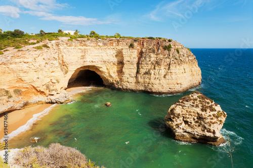 Wall mural Grotte in der Algarve Portugal
