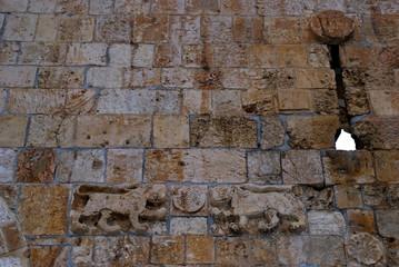 The Lion Gate, Jerusalem, Israel