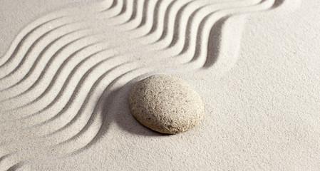 Photo sur Plexiglas Zen pierres a sable massage stone for wellbeing