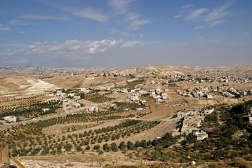 View from Herodium, Palestine