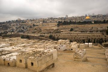 Jewish cemetery, Jerusalem, Israel