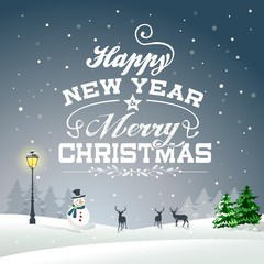 Christmas Background Greeting Card 01