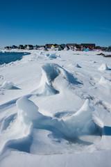 Winter in Qeqertarsuaq, Greenland