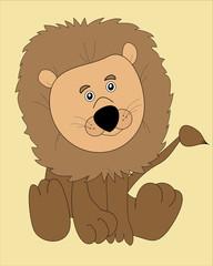 Cartoon-Lion