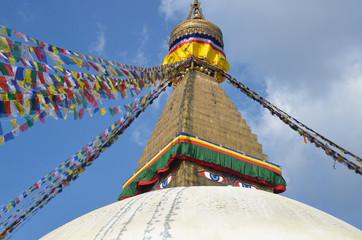 епал, Катманду, самая большая буддистская ступа Боднатх
