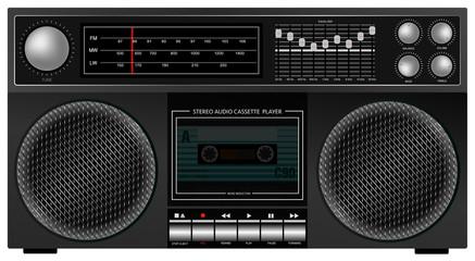 Retro Stereo Player
