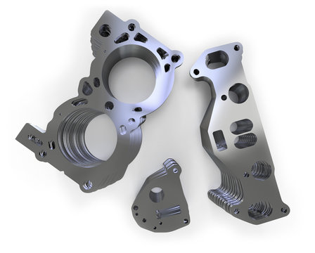 Punched metal parts