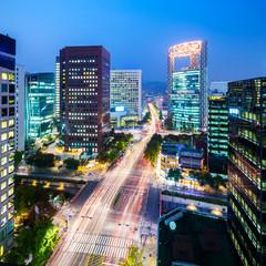 Foto op Aluminium Seoel Seoul city at night