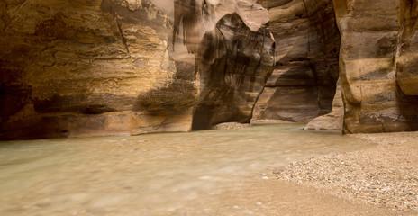 Horizontal picture of Wadi Mujib Canyon, Jordan