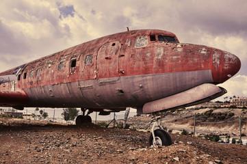 ramshackle airplane