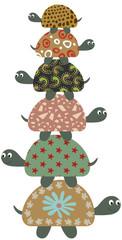 Cute Safari Turtles