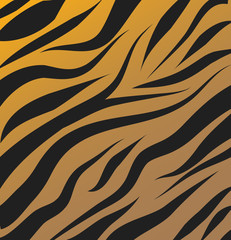 Tiger pattern vector background