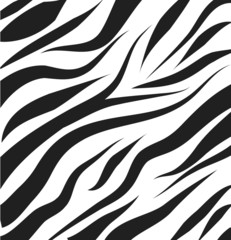Zebra pattern vector background