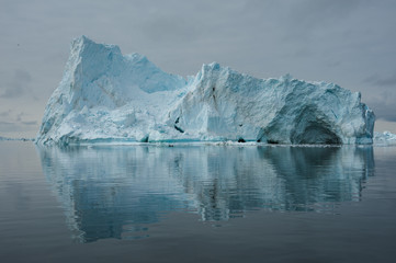 Iceberg in Disko Bay of Greenland